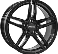 "18"" MONACO GP1 - Glossy Black 8x18 - ET35"