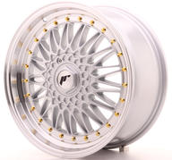 "18"" JAPAN RACING JR9 MACHINED SILVER"