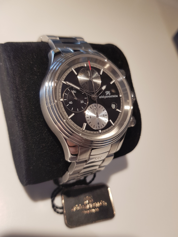 Sjöö Sandström Royal Steel Chronograph