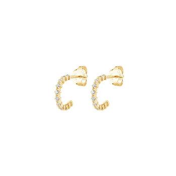 Drakenberg Sjölin Infinity Hoops guld