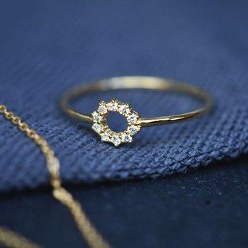 Drakenberg Sjölin Infinity Drop Ring
