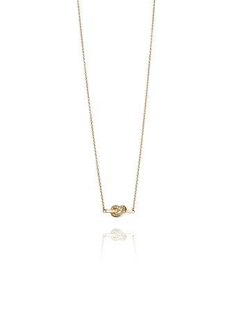 Efva Attling Love Knot & Stars Necklace