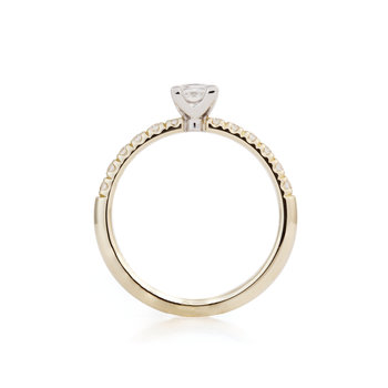 Engelbert Solitaire Princess Diamonds