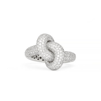Absolutely Loose Knot pavé