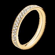 Georg Jensen MAGIC ring - 18 kt. guld med pavéinfattade briljanter
