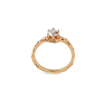 Small Sparkle Ring Bronze