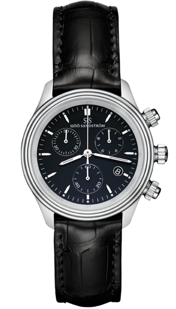 Sjöö Sandström Royal Steel Chronograph 35,5 mm