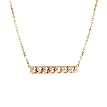 Emma Israelsson Link Necklace Bronze