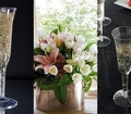 Fluted Champagne Glass. 8 pieces.