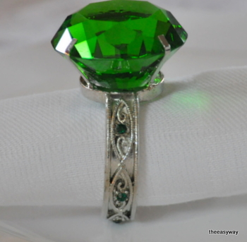 Napkin Ring Emerald