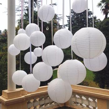 Paper Lantern. White 40 cm