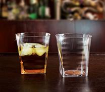 Fyrkantiga dricksglas/ Whisky.14 st.