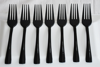 Black  Forks. 20 pieces.