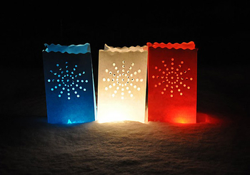 Candle Bag  Stardust - Vit