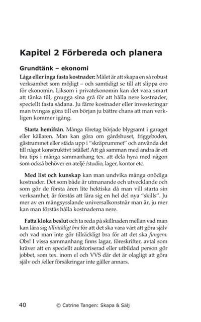 Köp E-Boken billigast & bäst här: SKAPA & SÄLJ!