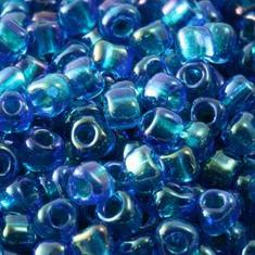 10gram CAPRI Blue Iris #3537 Miyuki 3mm Triangles 8/0
