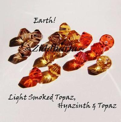 Swarovski Crystals 15st - EARTH