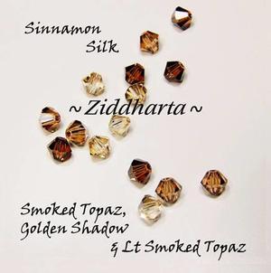 Swarovski Crystals 15st - Sinnamon Silk