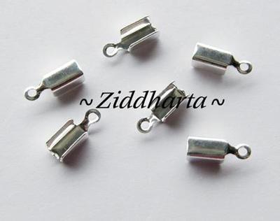 6 Hållare Smyckesband 'Large' ca 13x5mm - SP