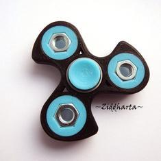 Coolaste Spinnern! Bästaste leksaken & presenten! Spinner - Blå / Turkos