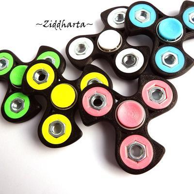 Coolaste Spinnern! Bästaste leksaken & presenten! Spinner - Rosa / Pink