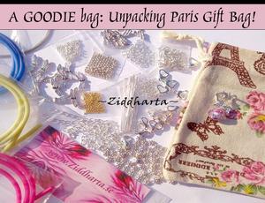 #DIY Videos: Packar upp Paris Smyckes påsen - Unpacking Paris gift bag: Smyckestillverknings delar & pyssel plus gåvor