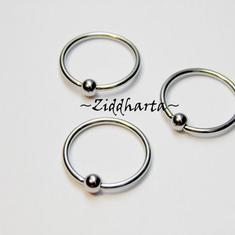 Piercing-smycke: Ball Closure Ring