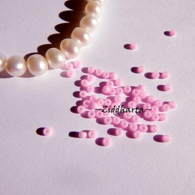 10gram Hot Pink ROSA Opaka #415 Miyuki 2mm Seed Beads 11/0