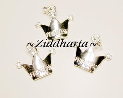 1 SP hänge - Princess-krona