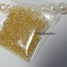 5gram Miyuki Seed Beads 15/0 - Lt Gold SL - ca 1250 pärlor