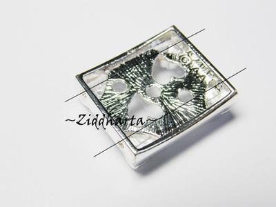 1 SP Fotoram 2-håls slider: Swarovski i hjärtan