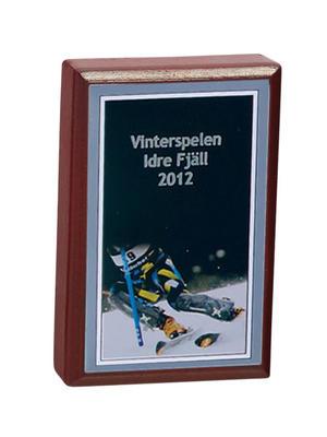 Plakett 3584 Slalom