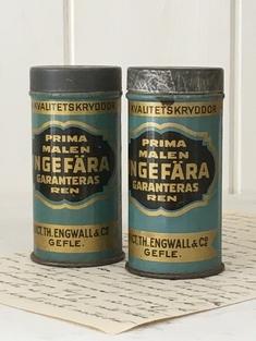 GAMLA KRYDDBURKAR - INGEFÄRA
