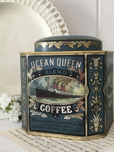 ÄLDRE KAFFEBURK  - OCEAN QUEEN COFFEE