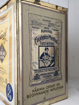 GAMMAL PLÅTBURK