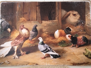 TAVLA - FARMHOUSE ANIMALS