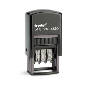 Trodat Printy-dater 4850  Stämpelyta: 25mm x 5mm