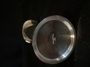 Vas  i Äkta silver. Sterling silver.Design T Eldh.Ny, oanvänd från 1957