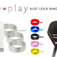 Target Play Slot Lock Rings Silver