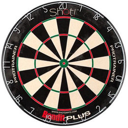 Shot Dartboard Bandit Plus Trainer
