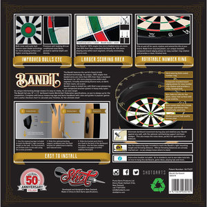 Shot Bandit Anniversary Darttavla Limited Edition