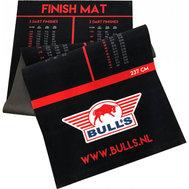 Bulls Dartmatta Tyg Utgångstabell Upphöjd Kastlinje 300x90