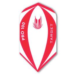 Target Pro 100 Red/White Slim