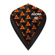 Target Agora Ultra Ghost Orange Kite