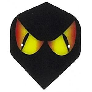 Ruthless Black Yellow Eyes