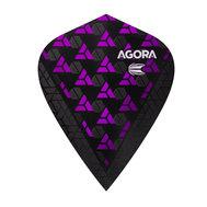 Target Agora Ultra Ghost Purple Kite