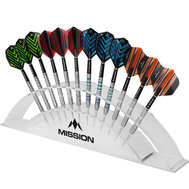 Mission Station Darts Display holds 12 Darts