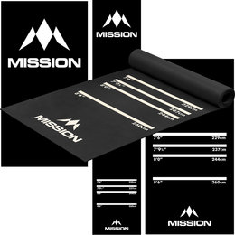 Mission Dartsmat Rubber 290x60