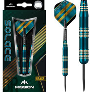 Mission Solace Electro Brass Darts M2 23g
