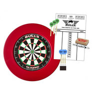Bulls Surround Dartboard  Starter Set Red